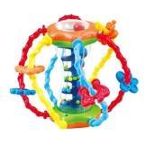 Playgo Baby Entdeckerball Motorikspielzeug mit Rassel und Schleife - 1
